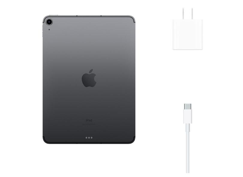 "Tablet Apple iPad Air 4ª Geração Apple A14 Bionic 4G 64.0 GB Liquid Retina 10.9 "" iPadOS 14 12.0 MP"