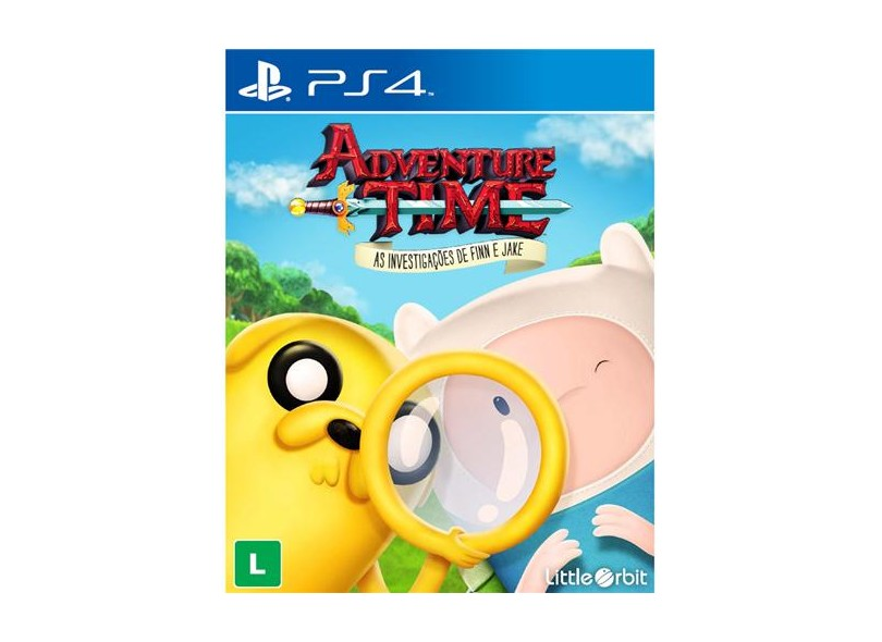 Jogo Adventure Time PS4 Little Orbit