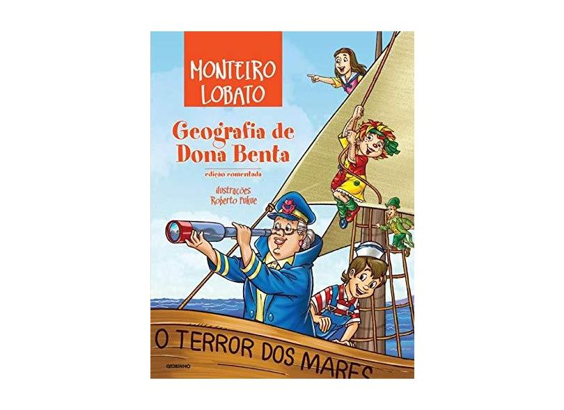 Geografia de Dona Benta - Lobato, Monteiro - 9788525053657