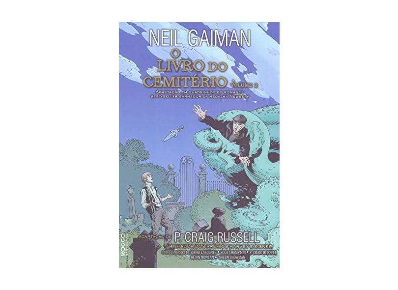 Livro do Cemitério, o - Volume 2 - Neil Gaiman - 9788579804410
