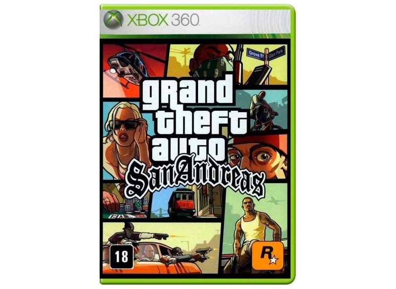 Jogo Grand Theft Auto San Andreas Xbox 360 Rockstar