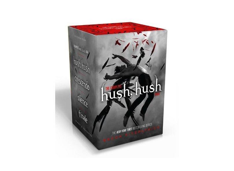 The Complete Hush, Hush Saga: Hush, Hush/Crescendo/Silence/Finale - Capa Comum - 9781481400848