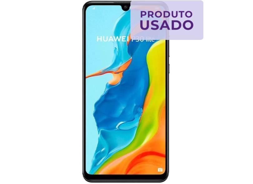 Smartphone Huawei P30 Lite Usado 128GB Câmera Tripla 2 Chips Android 9.0 (Pie)