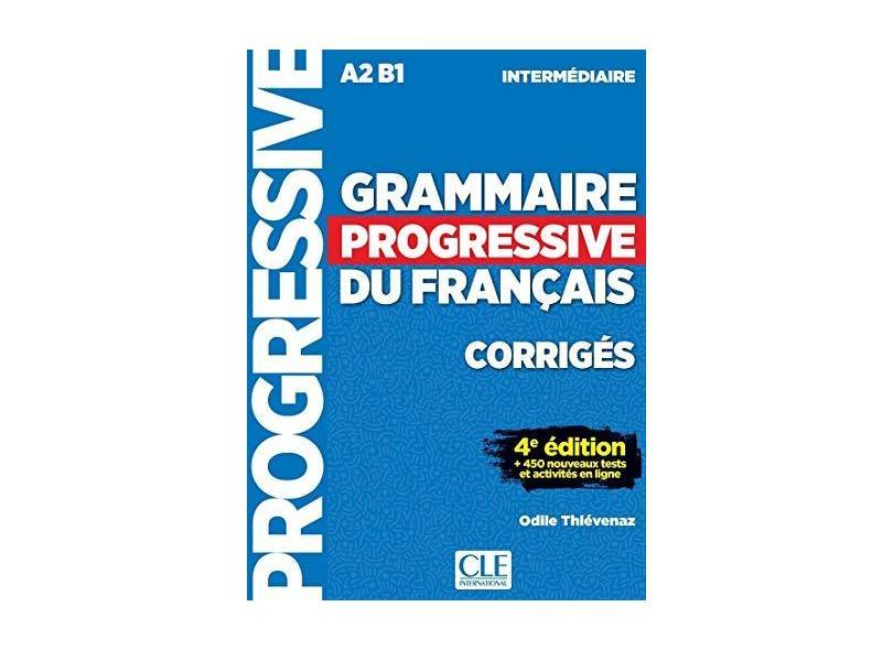 Grammaire Progr.Inter.Corrigés 4È Éd. - Interforum - 9782090381047