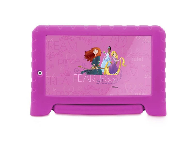 "Tablet Multilaser 8.0 GB IPS 7 "" Android 7.0 (Nougat) 2.0 MP Disney Princesas Plus NB281"