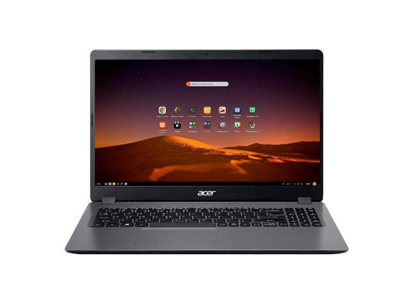 """Notebook Acer Aspire 3 Intel Core i5 1035G1 10ª Geração 4 GB de RAM 256.0 GB 15.6 """" Linux A315-56-569F"""
