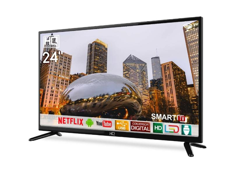 "Smart TV TV LED 24.0 "" HQ HQSTV24NP 2 HDMI"