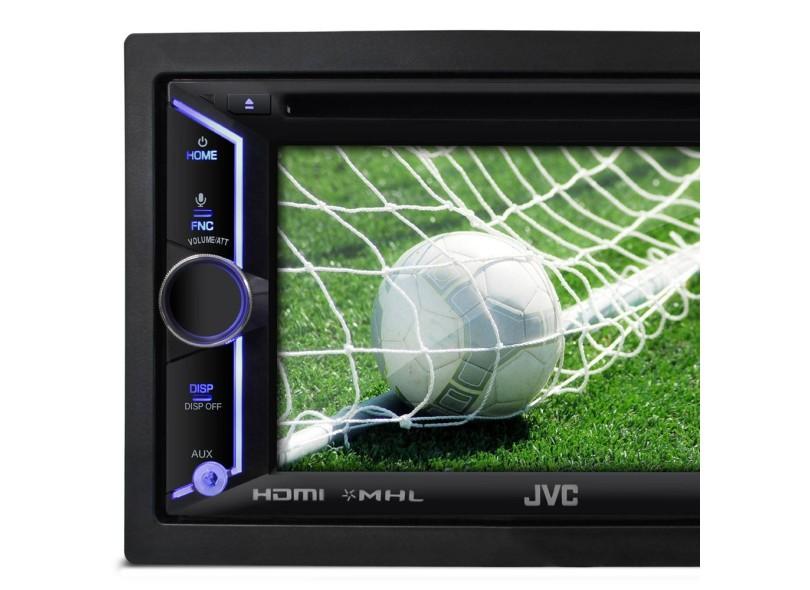 DVD Player Automotivo JVC KW-V30BT