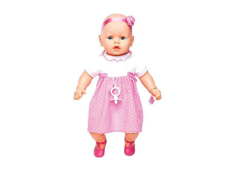 Boneca Bebê Meu Bebê Premium Estrela