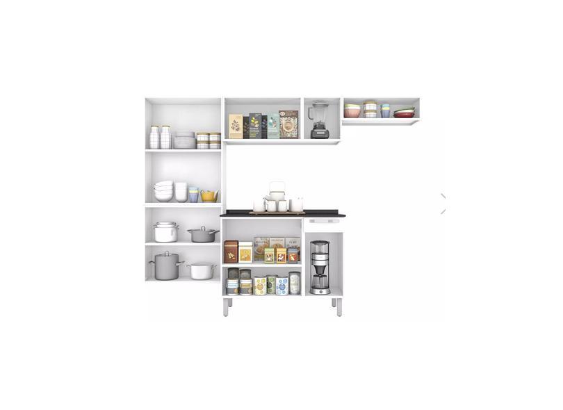 Cozinha Completa 10 Portas 1 Gaveta Rose Itatiaia