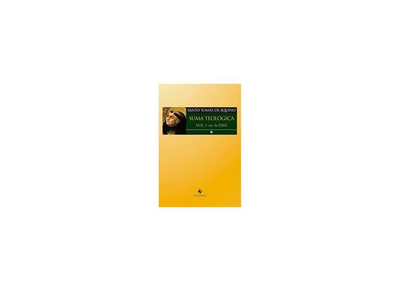 Suma Teológico - Vol.1 - La Pars - Santo Tomás De Aquino - 9788584910441