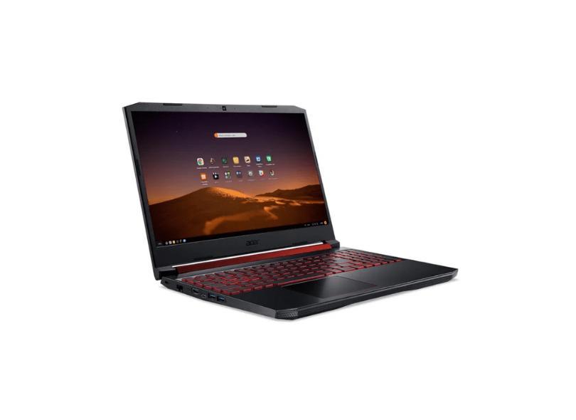"""Notebook Gamer Acer Aspire Nitro 5 Intel Core i5 9300H 9ª Geração 8 GB de RAM 1024 GB 128.0 GB 17.3 """" Full GeForce GTX 1650 Linux AN517-51-55NT"""