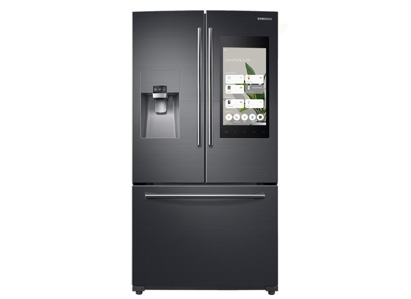 Geladeira Samsung Frost Free French Door Inverse 582 l Inox Family Hub RF265BEAESG