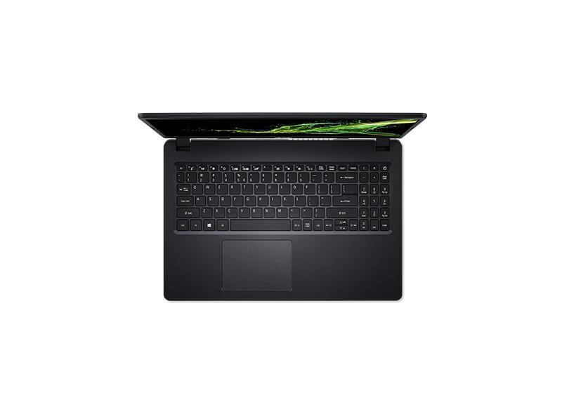 """Notebook Acer Aspire 3 Intel Core i3 1005G1 10ª Geração 8.0 GB de RAM 512.0 GB 15.6 """" Windows 10 A315-56-35ET"""