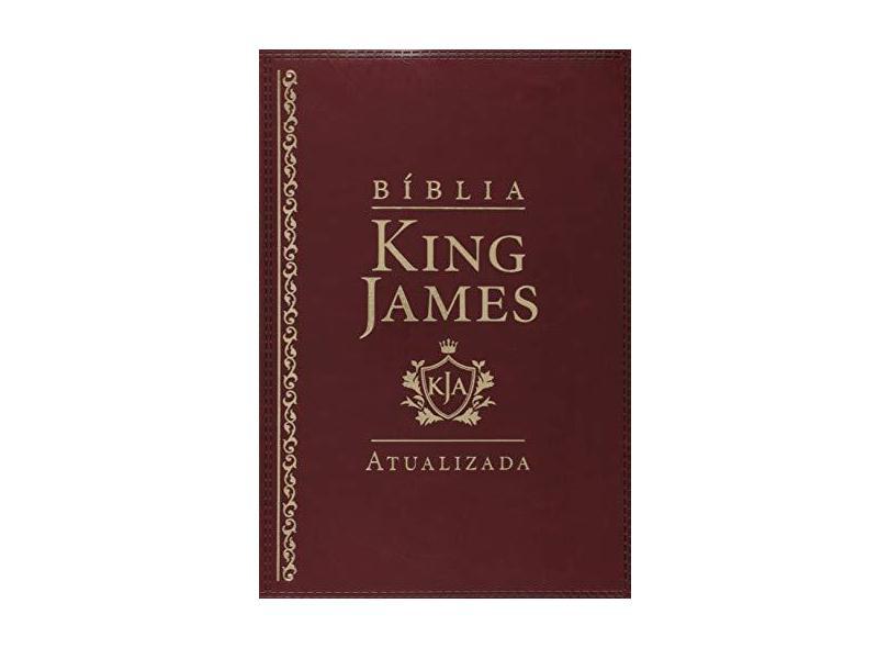 Bíblia King James Atualizada.vinho - King James - 7899938408216