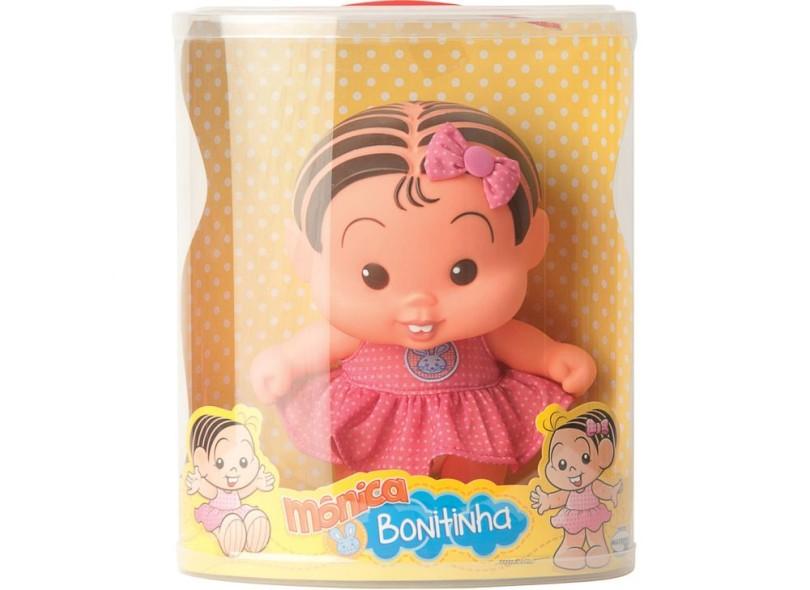 Boneca Turma da Mônica Mônica Bonitinha Mulibrink