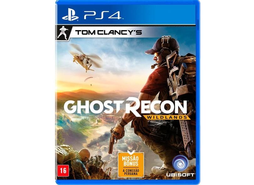 Jogo Tom Clancy's Ghost Recon Wildlands PS4 Ubisoft