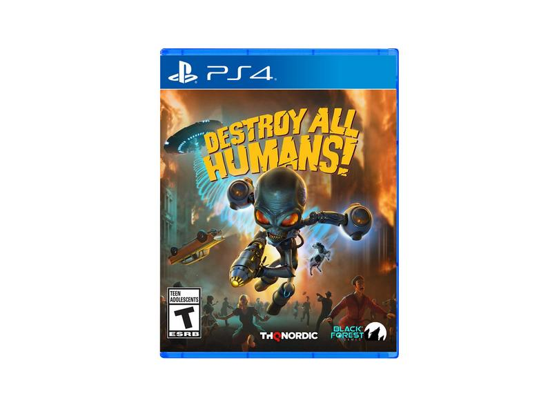 Jogo Destroy All Humans! PS4 THQ