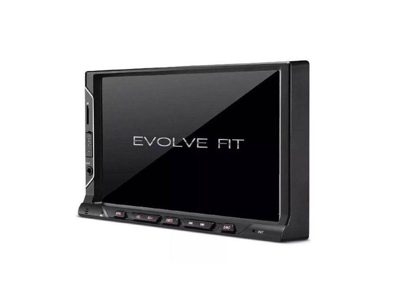 "Central Multimídia Automotiva Multilaser 7 "" Evolve Fit P3328"