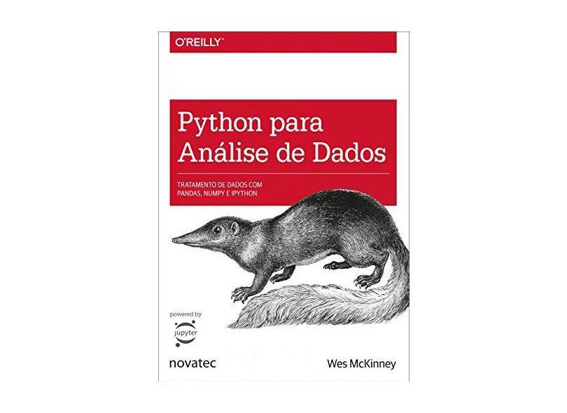 Python Para Análise de Dados - Wes Mckinney - 9788575226476