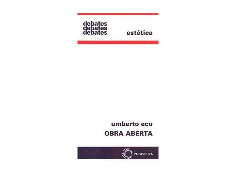 Obra Aberta - Capa Comum - 9788527310284