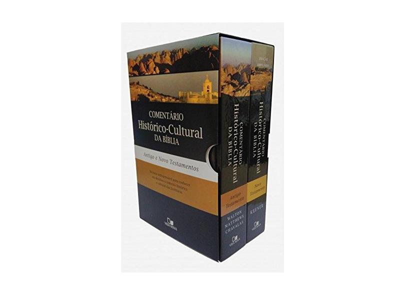 Comentário Histórico-Cultural da Bíblia. Antigo e Novo Testamento - Caixa - Craig Keener - 9798527500554