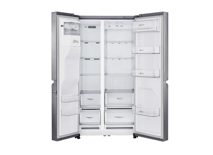 Geladeira LG Frost Free Side by Side 601.0 l Inox GC-L247SLUV