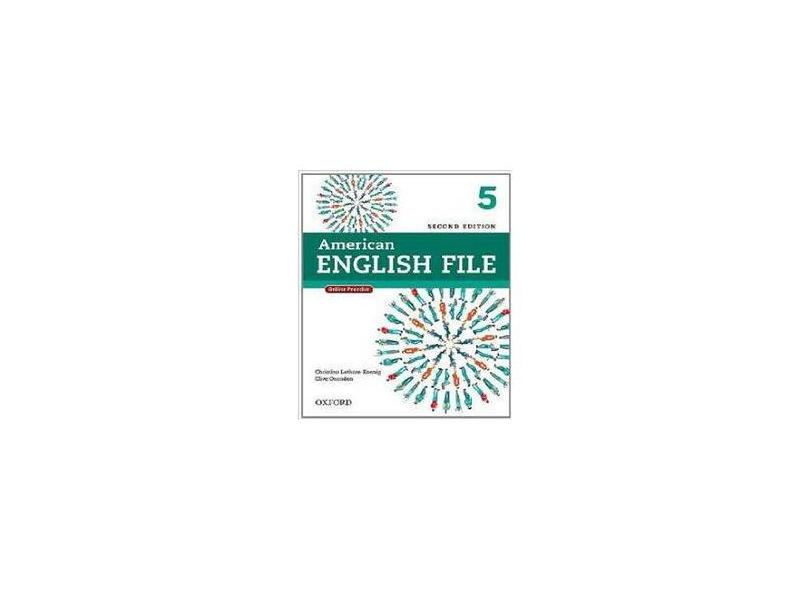 American English File 5 - Student Book With Itutor - 2ª Ed. - Oxford, Editora - 9780194776196