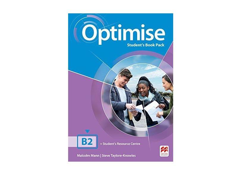Optimise Student's Pack W/Workbook B2 (No Key) - Steve Taylore-knowles - 9786685729405