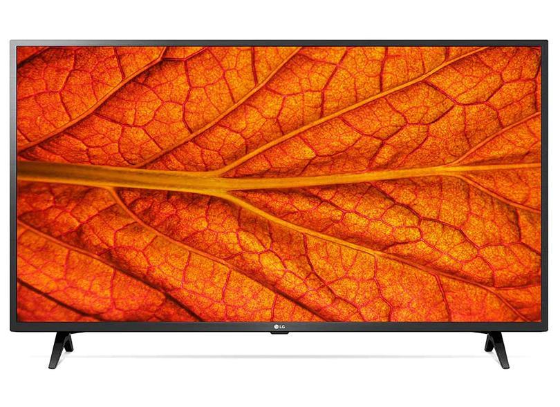 "Smart TV TV LCD 43 "" LG ThinQ AI Full 43LM6370PSB 3 HDMI"