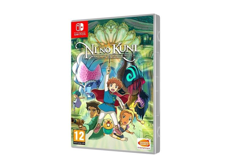Jogo Ni No Kuni Wrath of the White Witch Bandai Namco Nintendo Switch