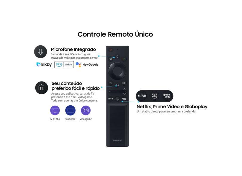 """Smart TV TV LED 58 """" Samsung Crystal 4K HDR 58AU7700 3 HDMI"""