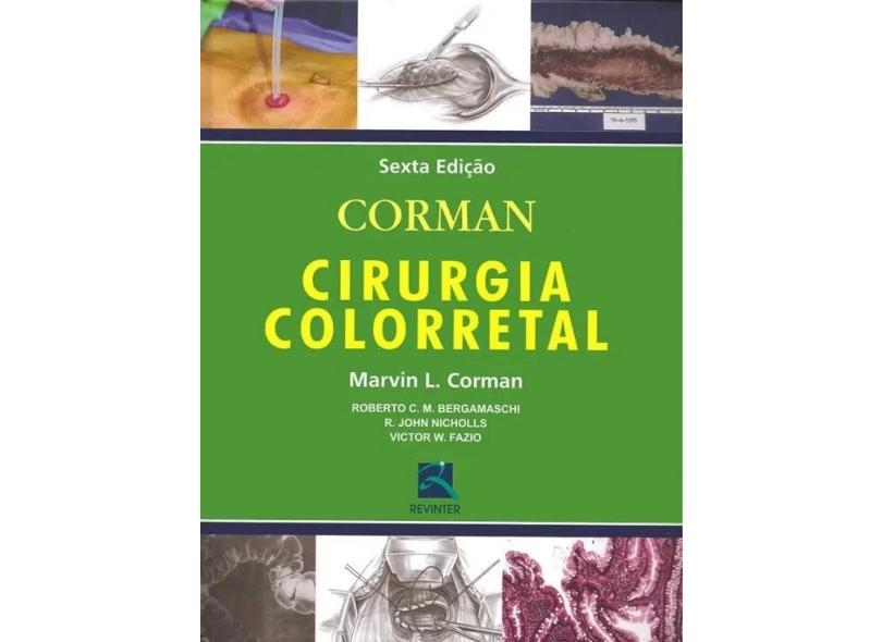 Corman Cirurgia Colorretal - Corman, Marvin L. - 9788537206683