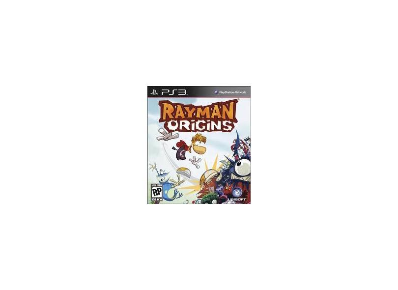 Jogo Rayman Origins Ubisoft PS3