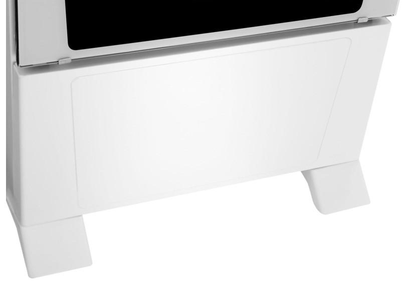 Fogão de Piso Atlas 4 Bocas Acendimento Automático Mônaco Glass