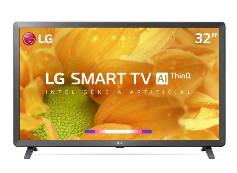 "Smart TV TV LED 32 "" LG ThinQ AI Netflix 32LM625BPSB"