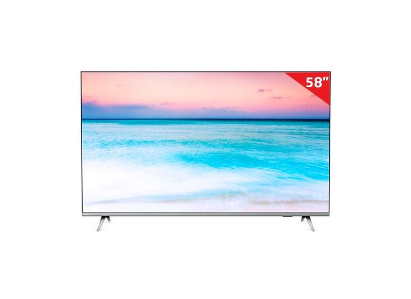 "Smart TV TV LED 58 "" Philips 4K Netflix 58PUG6654/78 3 HDMI"