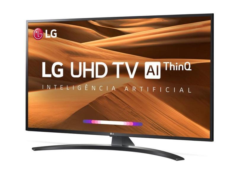 """Smart TV TV LED 65 """" LG ThinQ AI 4K Netflix 65UM7470PSA 4 HDMI"""