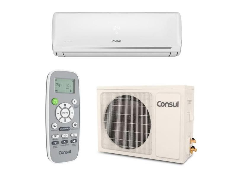 Ar-Condicionado Split Hi Wall Consul 12000 BTUs Inverter Controle Remoto Frio CBF12EBBNA / CBG12EBBNA