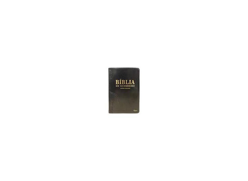 Bíblia do Guerreiro - Capa Preta - Ágape, Editora - 9788582160817
