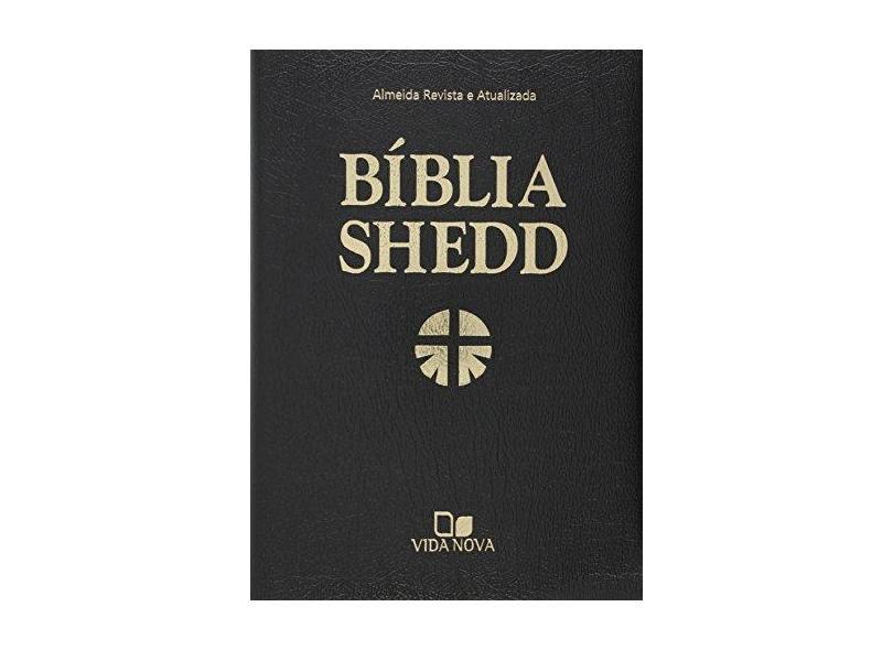 Bíblia Shedd - Covertex Preta - Almeida Revista e Atualizada - Vida Nova - 9798527500394