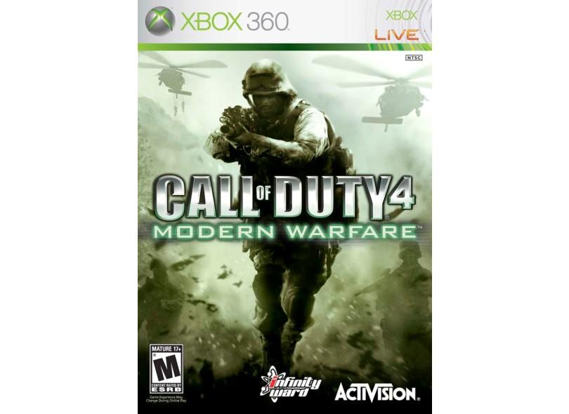 Jogo Call of Duty MW4 Activision Xbox 360