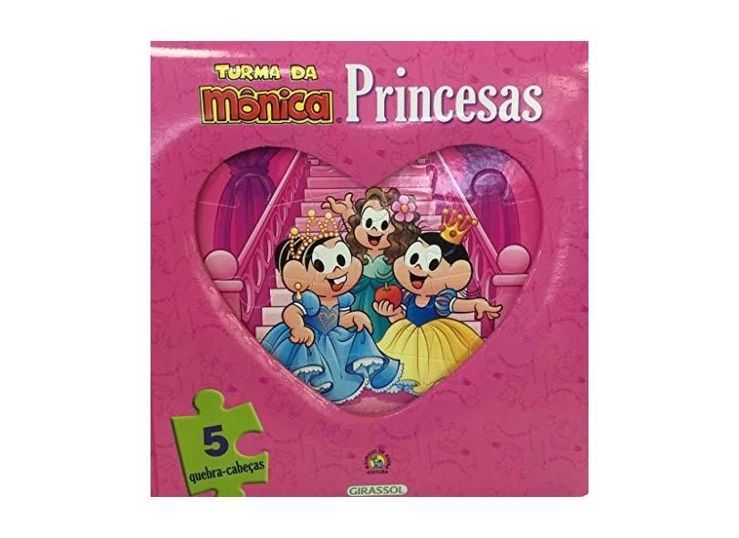 Turma da Mônica. Livro e Quebra-Cabeça Princesas - Mauricio De Sousa - 9788539422777