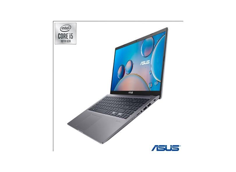 """Notebook Asus Intel Core i5 1035G1 10ª Geração 8.0 GB de RAM 256 GB 15.6 """" Full GeForce MX130 Windows 10 X515JF-EJ153T"""