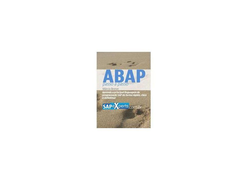 eBook ABAP: Passo a passo - Márcio Brener Costa - 9788591149100
