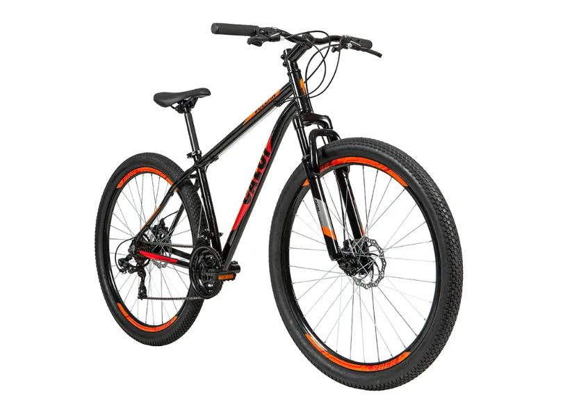 Bicicleta Mountain Bike Caloi 21 Marchas Aro 29 Suspensão Dianteira Disco Mecânico Vulcan