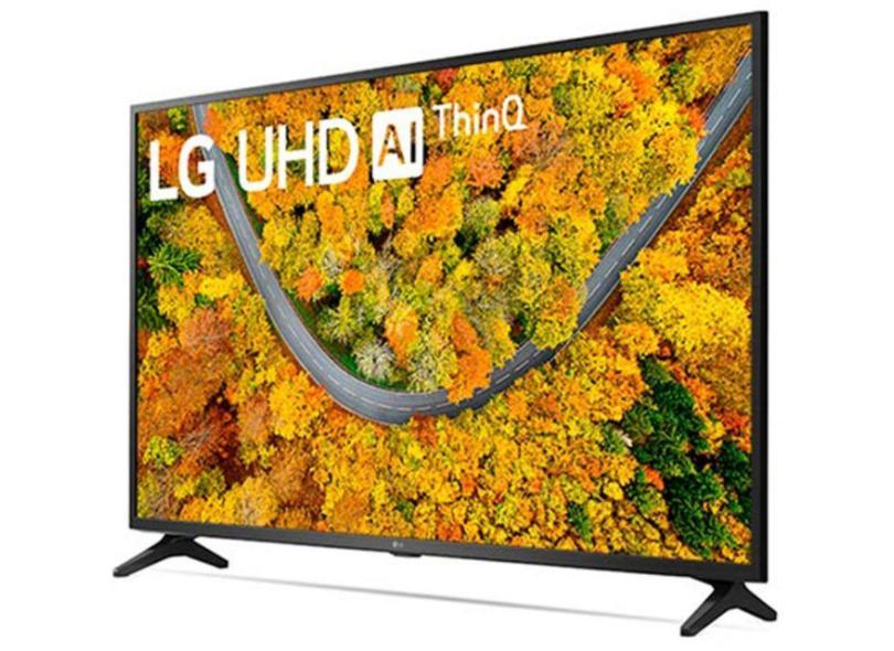 "Smart TV TV LED 50 "" LG ThinQ AI 4K HDR 50UP7550PSF 2 HDMI"