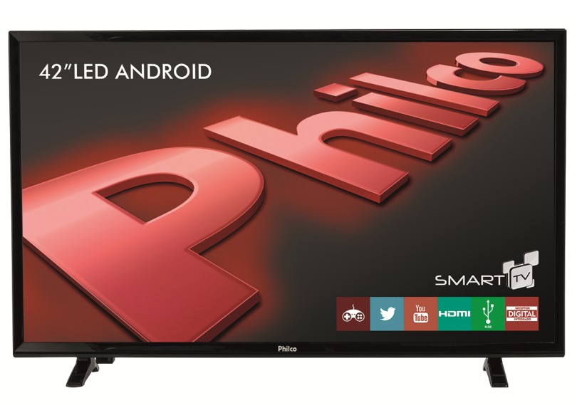 "Smart TV TV LED 42 "" Philco PH42B51DSGWA"