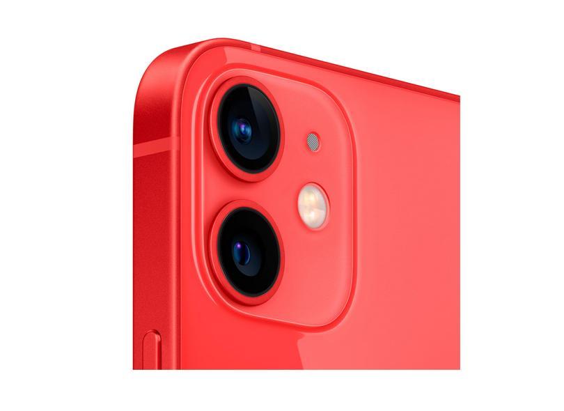 Smartphone Apple iPhone 12 Mini Vermelho 128GB Câmera Dupla iOS 14