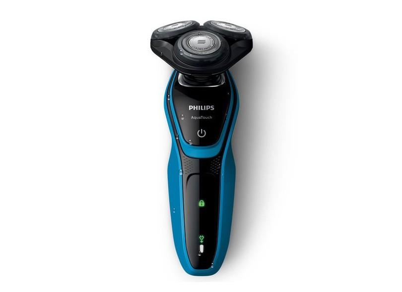 Barbeador Elétrico à Bateria Philips AquaTouch S5050/04